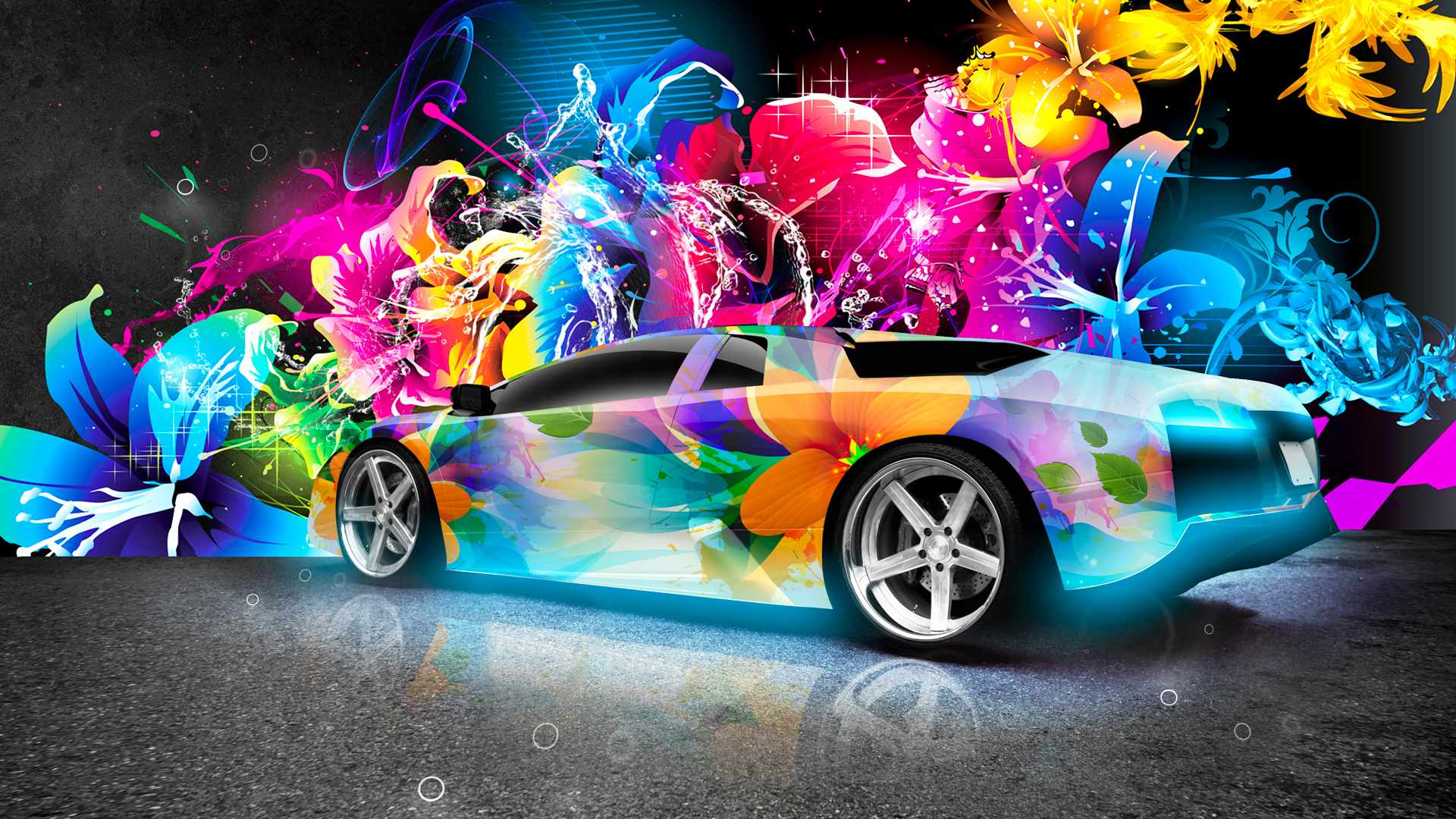 colorful-lambo